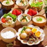 里芋と豆のもっちりサラダ*レシピ*