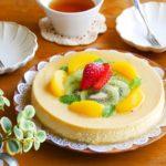 幸せプリンケーキ*レシピ*