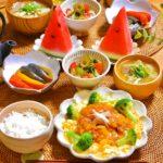 胡瓜と竹輪の胡麻黒酢和え*レシピ*