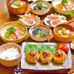 副菜に♩茄子の胡麻生姜煮
