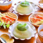 簡単スイーツ♩抹茶風味パンナコッタ